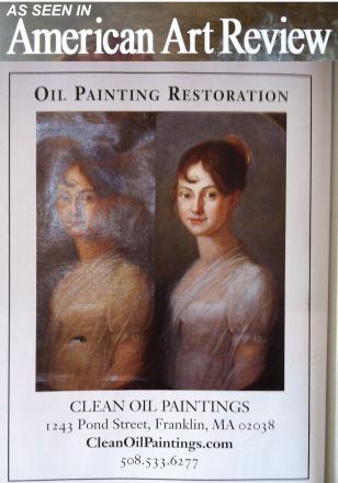 American Art Review Natioonasl Art Restoration Advertisement